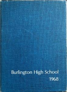 Burlington High School Burlington MA 1968 yearbook