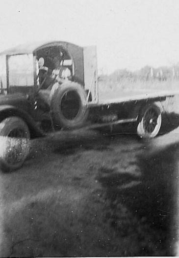 The Kerrigans' first truck - 1925
