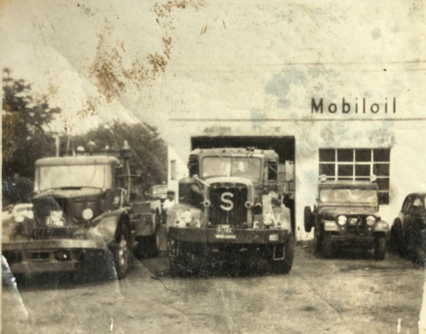 Tim Santry's wreckers at this Winn Street service station
