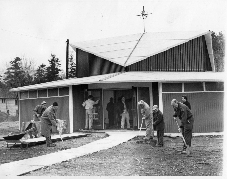 St. Mark's temporary church Burlington MA
