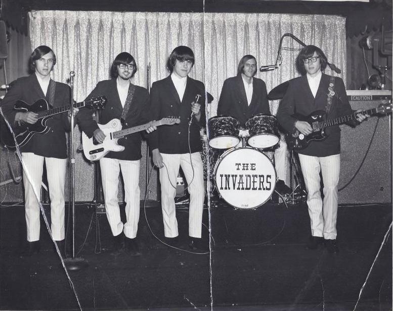 The Invaders group, circa 1967, Burlington MA