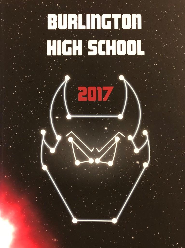 Burlington MA High School yearbook 2017