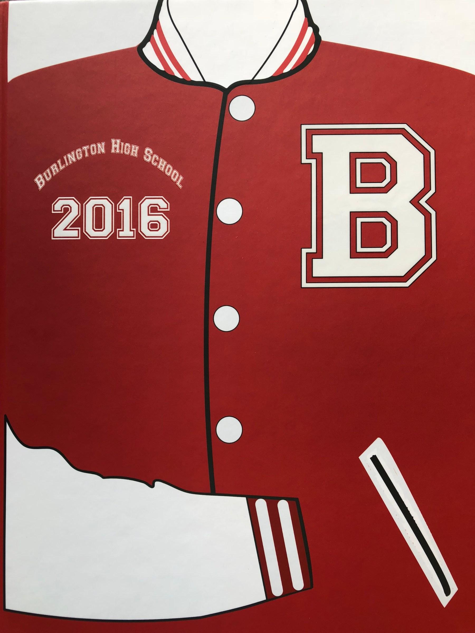 Burlington MA High School yearbook 2016
