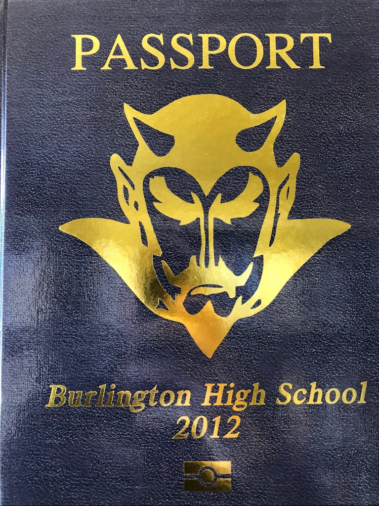 Burlington MA High School yearbook 2012