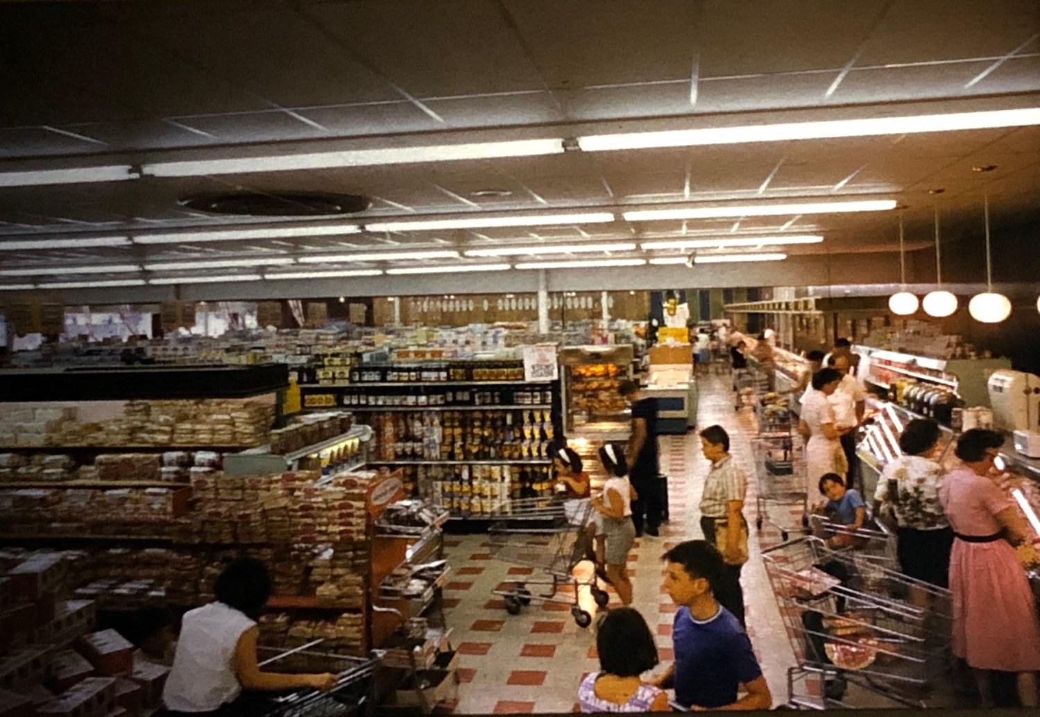 IGA interior Burlington MA