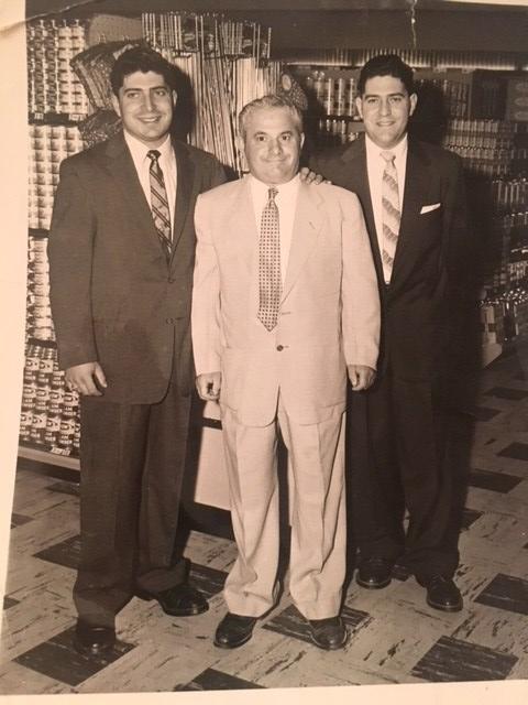 George, Irving and Burt Kolovson