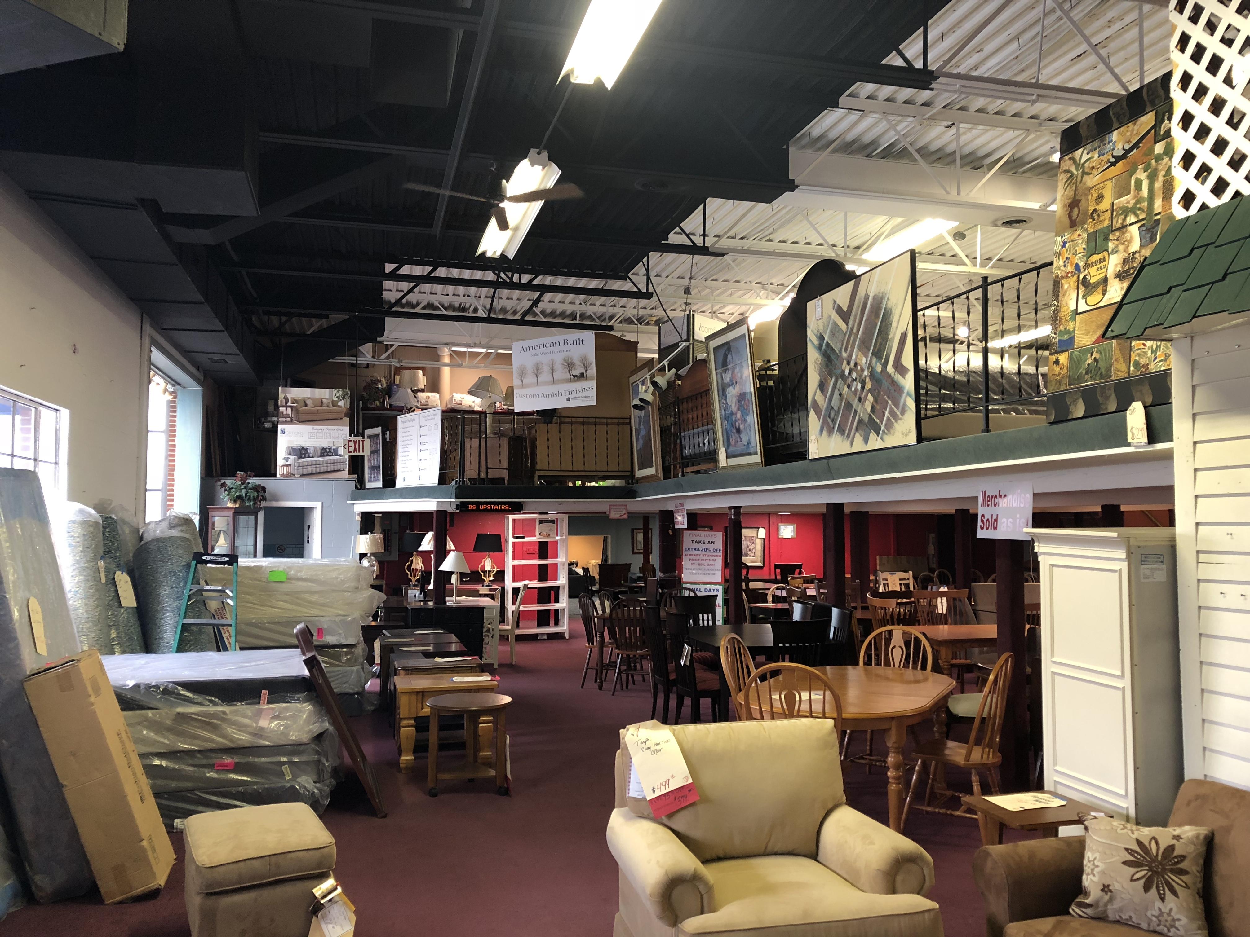 Donahueu0027s Furniture Mezzanine, Burlington MA
