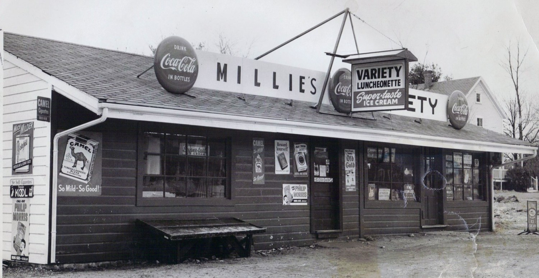 Millie's Variety store Burlington MA