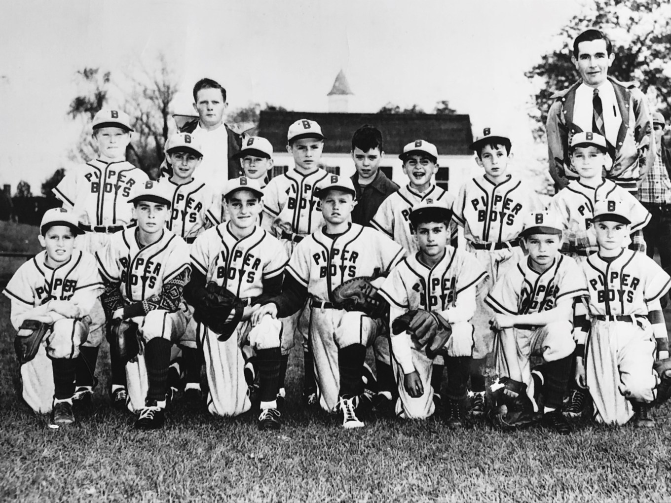 Piper Boys little league team, early 1950s Burlington MA