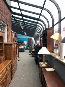 Donahue's Furniture interior, Burlington MA