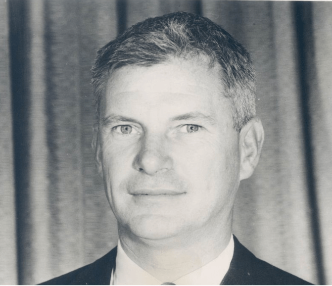 Dr. R.C. Seamans Jr., chief engineer of RCA's missile electronics and controls division, Burlington, MA
