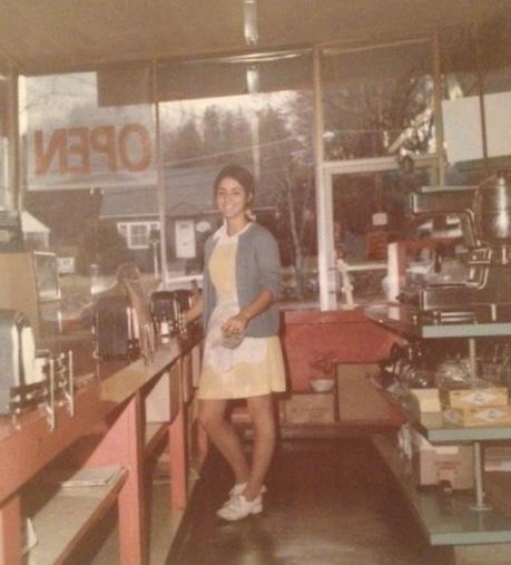 Linda Koutrouba Doherty at Red Robin, Burlington MA