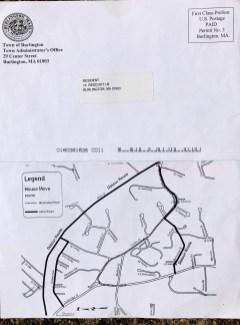 House move map 2007, Burlington MA. Credit: Brad Cushman