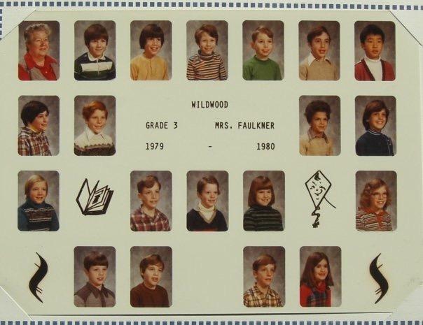 Wildwood School 1979-1980 Mrs. Faulkner, Burlington, MA