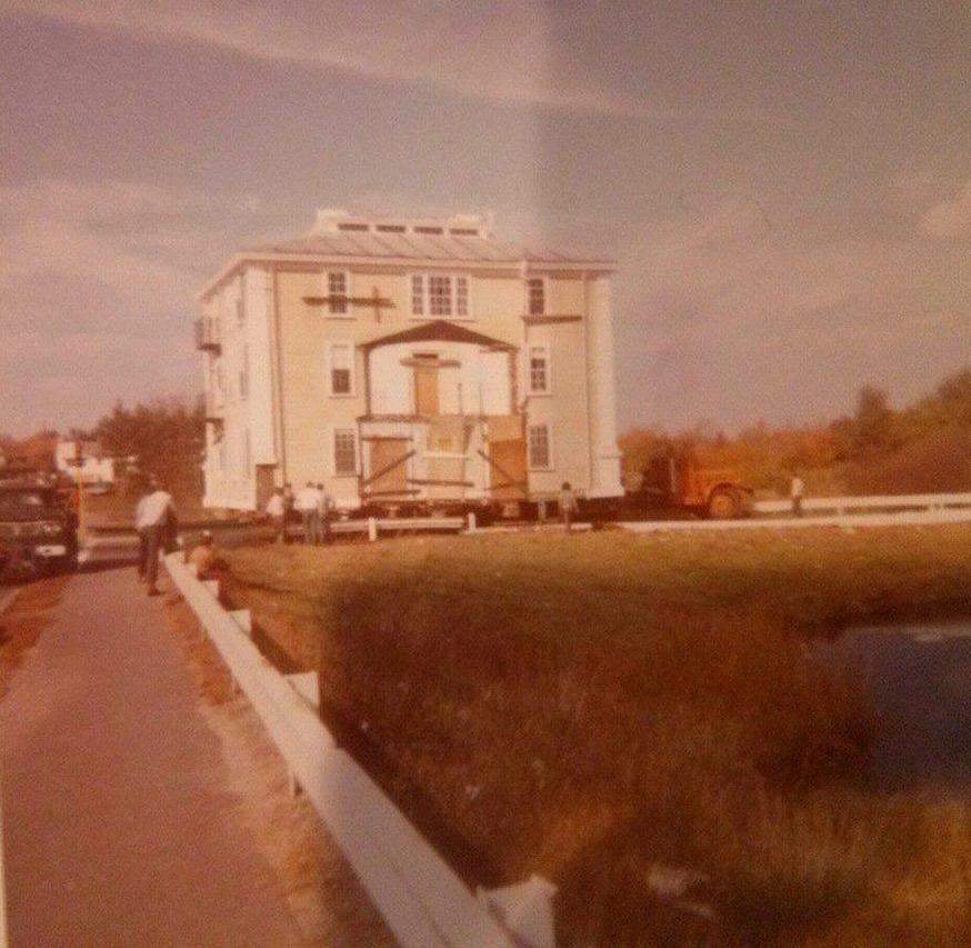 Baldwin House move, Woburn MA