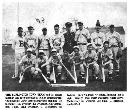 Burlingtonians baseball team
