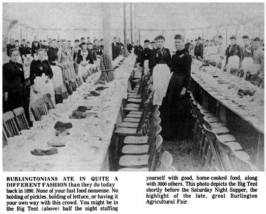 Burlington Agricultural Fair 1890