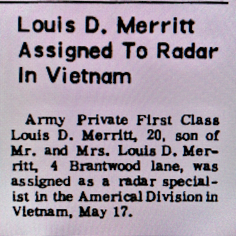 Louis Merritt Vietnam