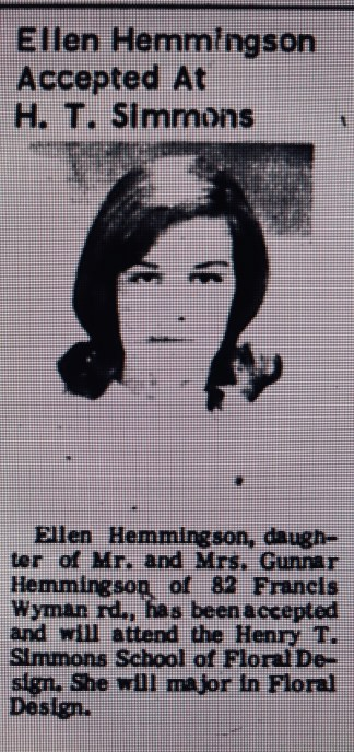 Ellen Hemmingson HT Simmons Burlington MA