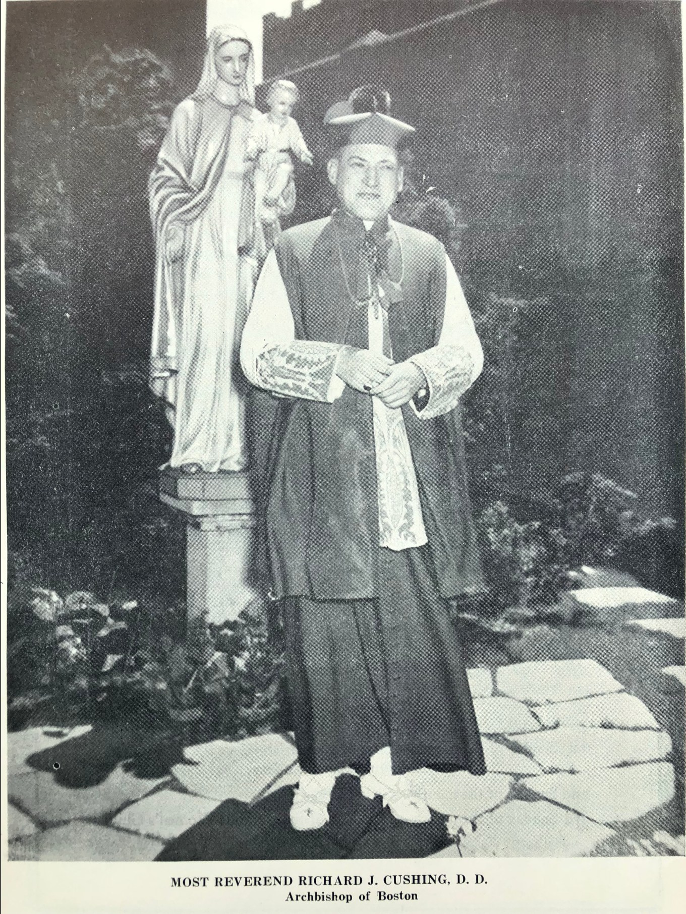 Boston Archbishop Richard J. Cushing