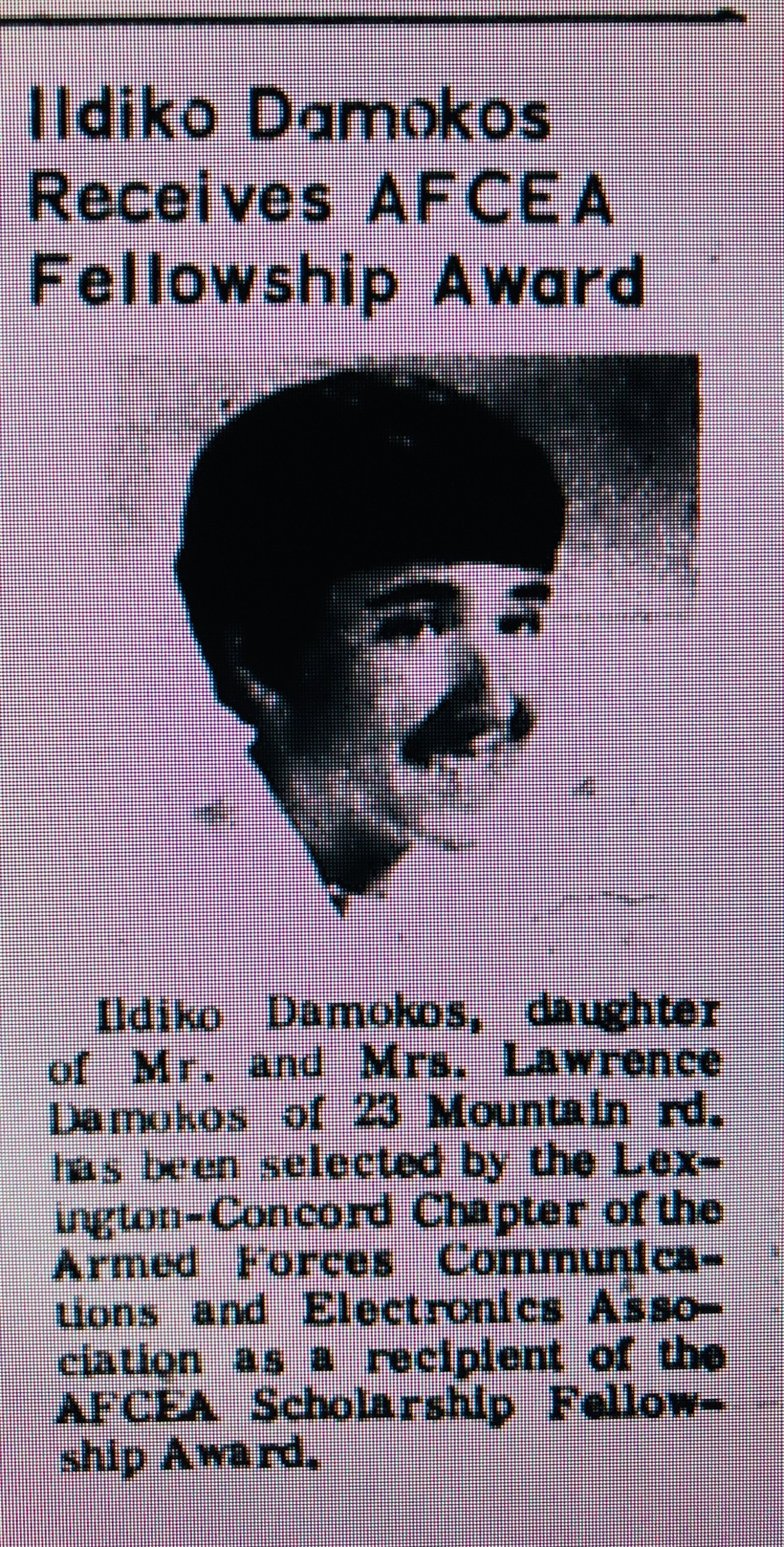 Damokos fellowship Burlington MA