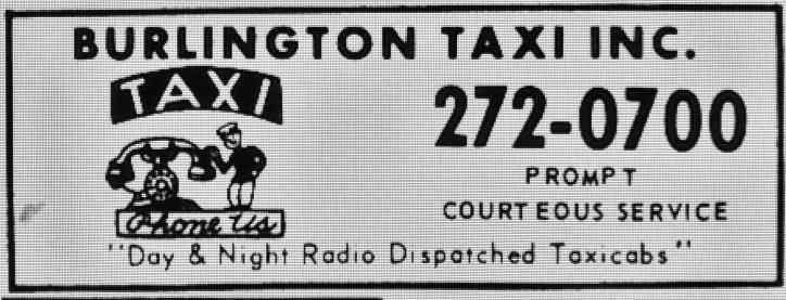 Burlington Taxi Inc. Burlington MA
