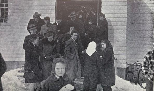 St. Margaret Parish mid 1940s