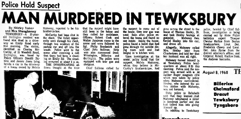 Charles McCarthy murder