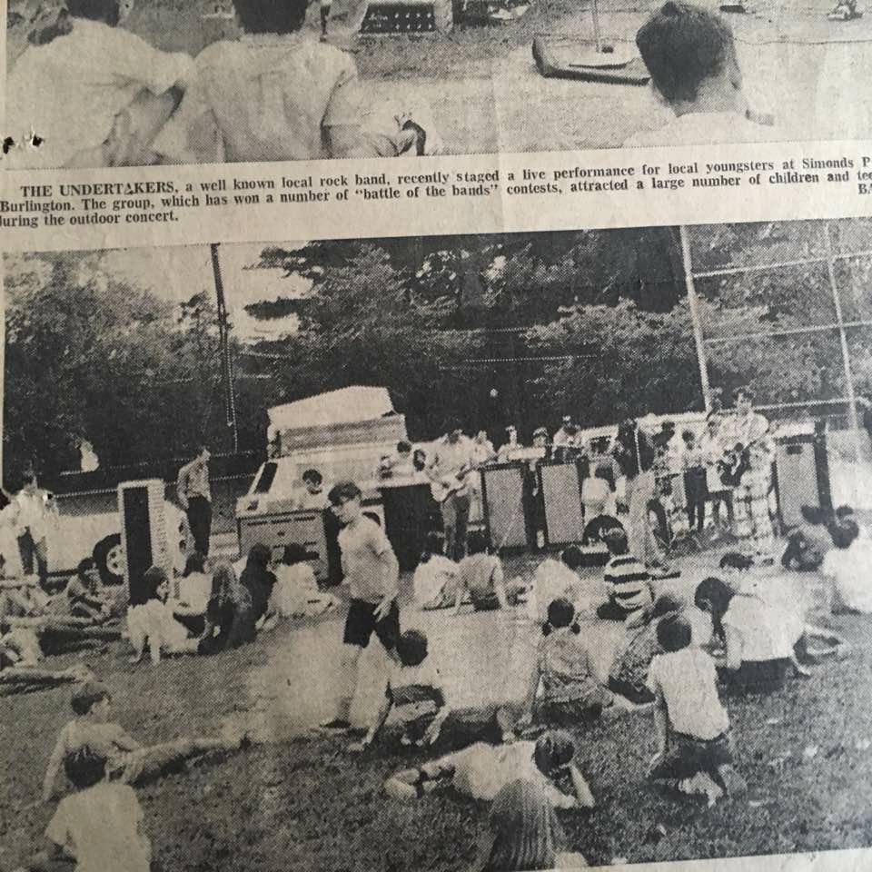 The Undertakers at Simonds Park, Burlington MA