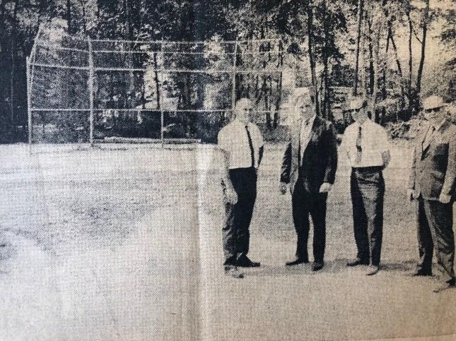 Regan Playground baseball field