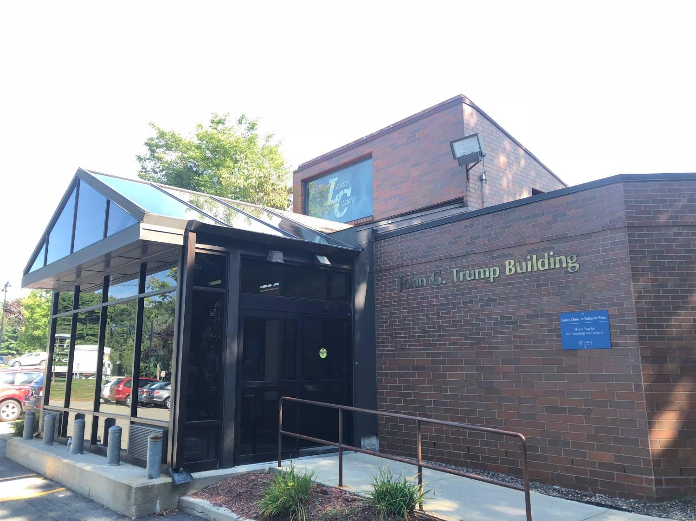 Trump building, Lahey Hospital Burlington MA