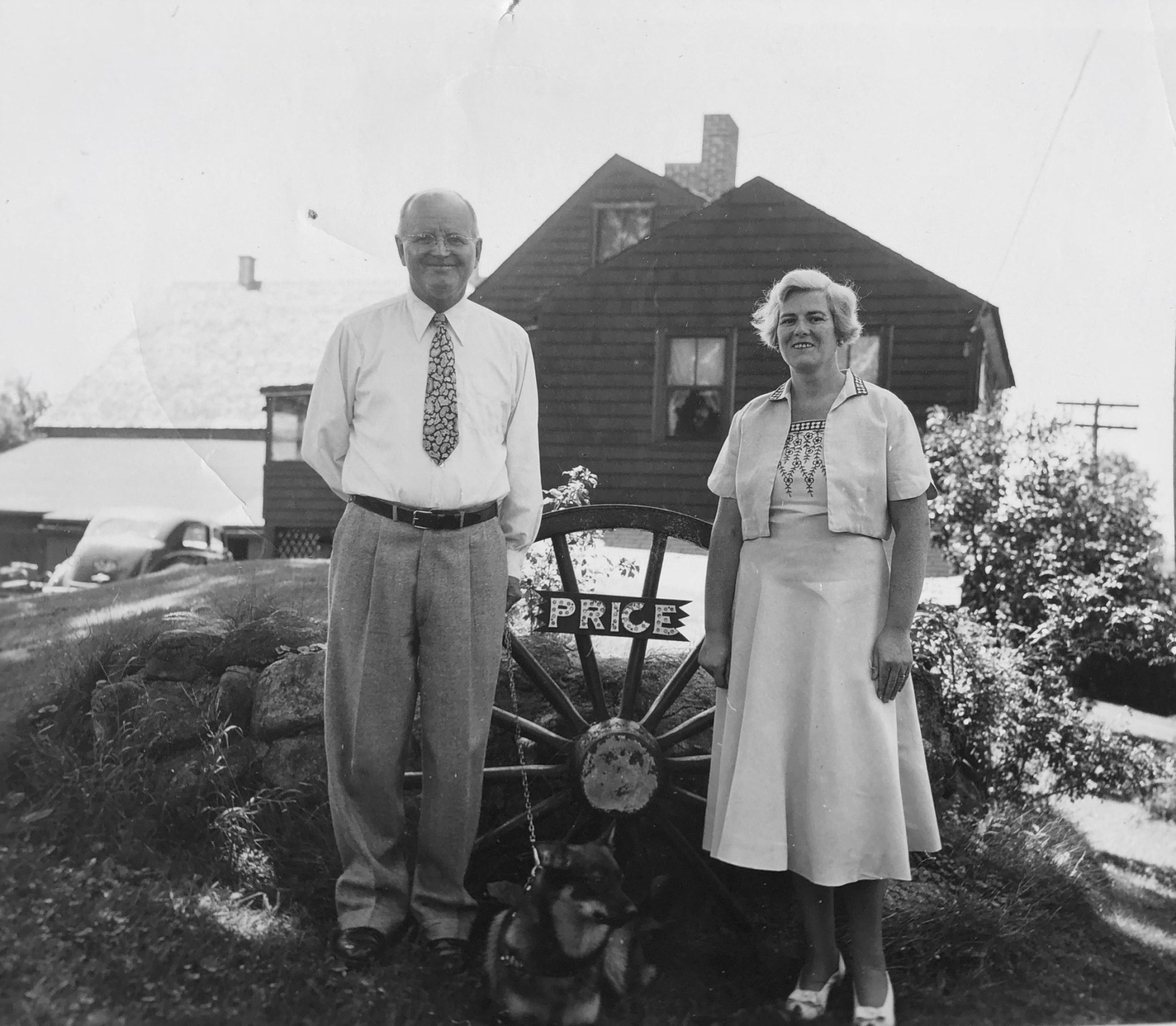 Hubert and Mary Price, Burlington MA