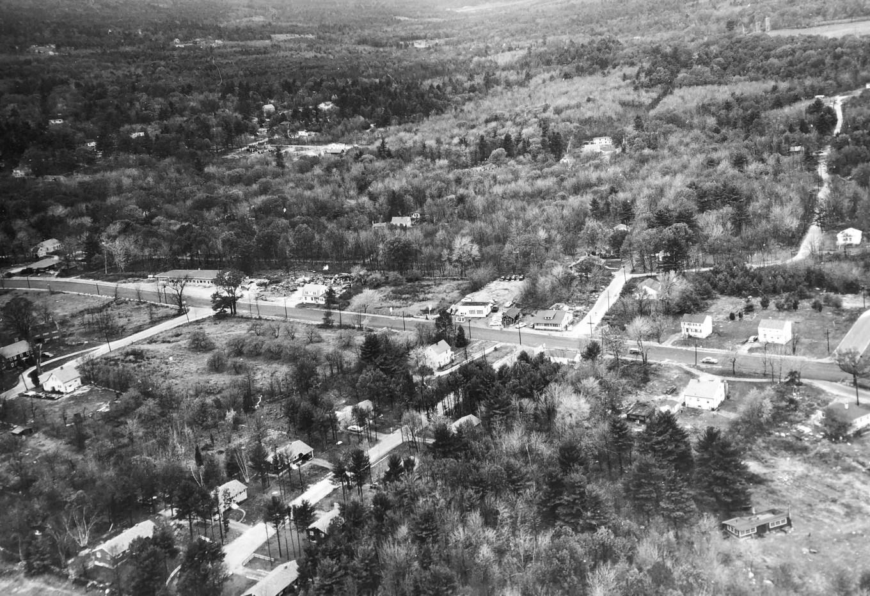 Cambridge Street aerial 2 Burlington MA