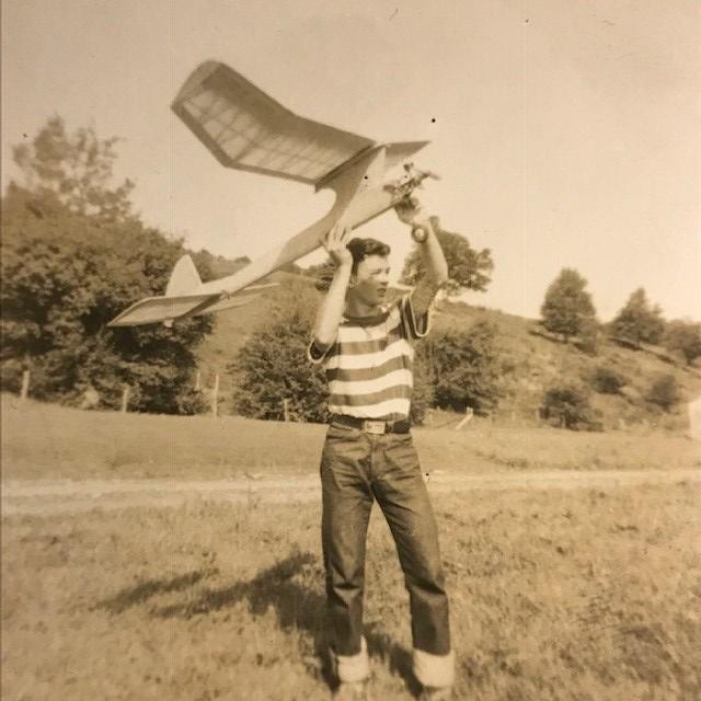 Arthur in 1962, age 16