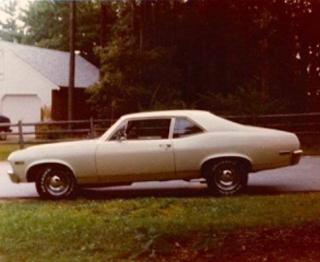 1970 Chevy Nova, 8-cyl 4-speed