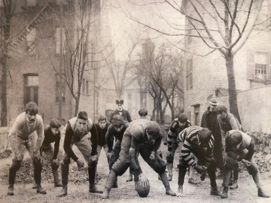 High school football team 1892