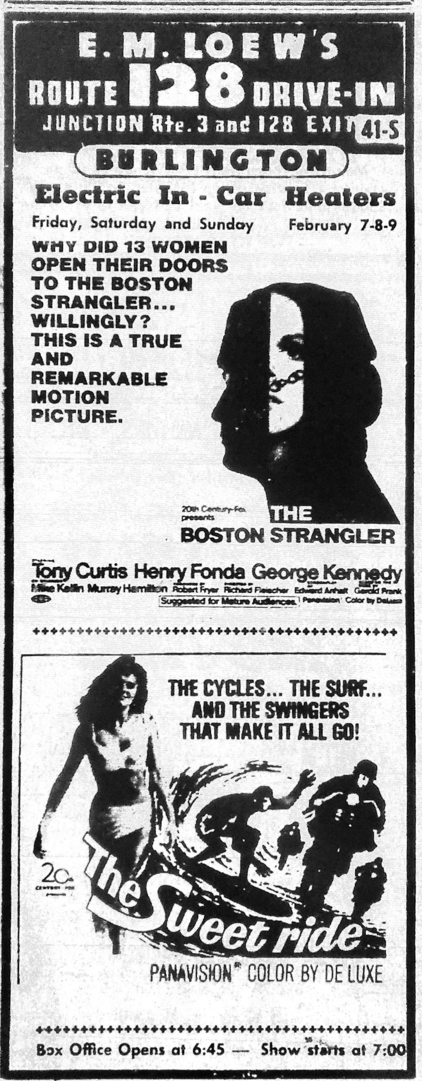 128 Drive-in Boston Strangler