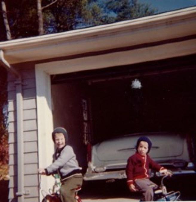 Mike (left) and Patrick O'Dougherty, Burlington MA