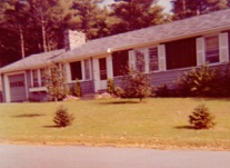 The O'Dougherty house in the 1950s