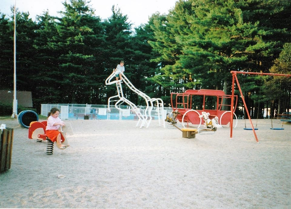 Simonds Park play structures 1990s