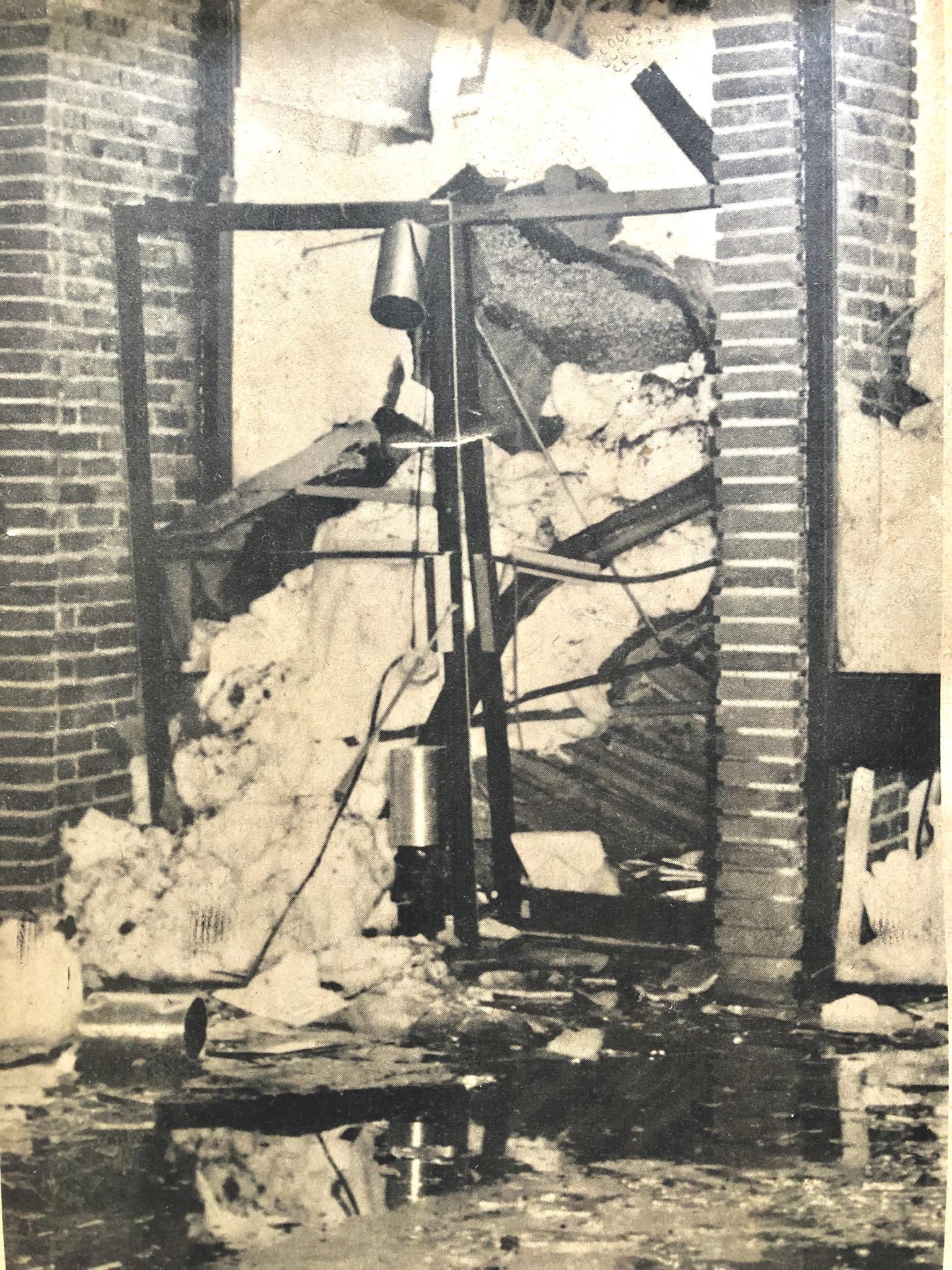 SportsWorld Burlington Mall collapse