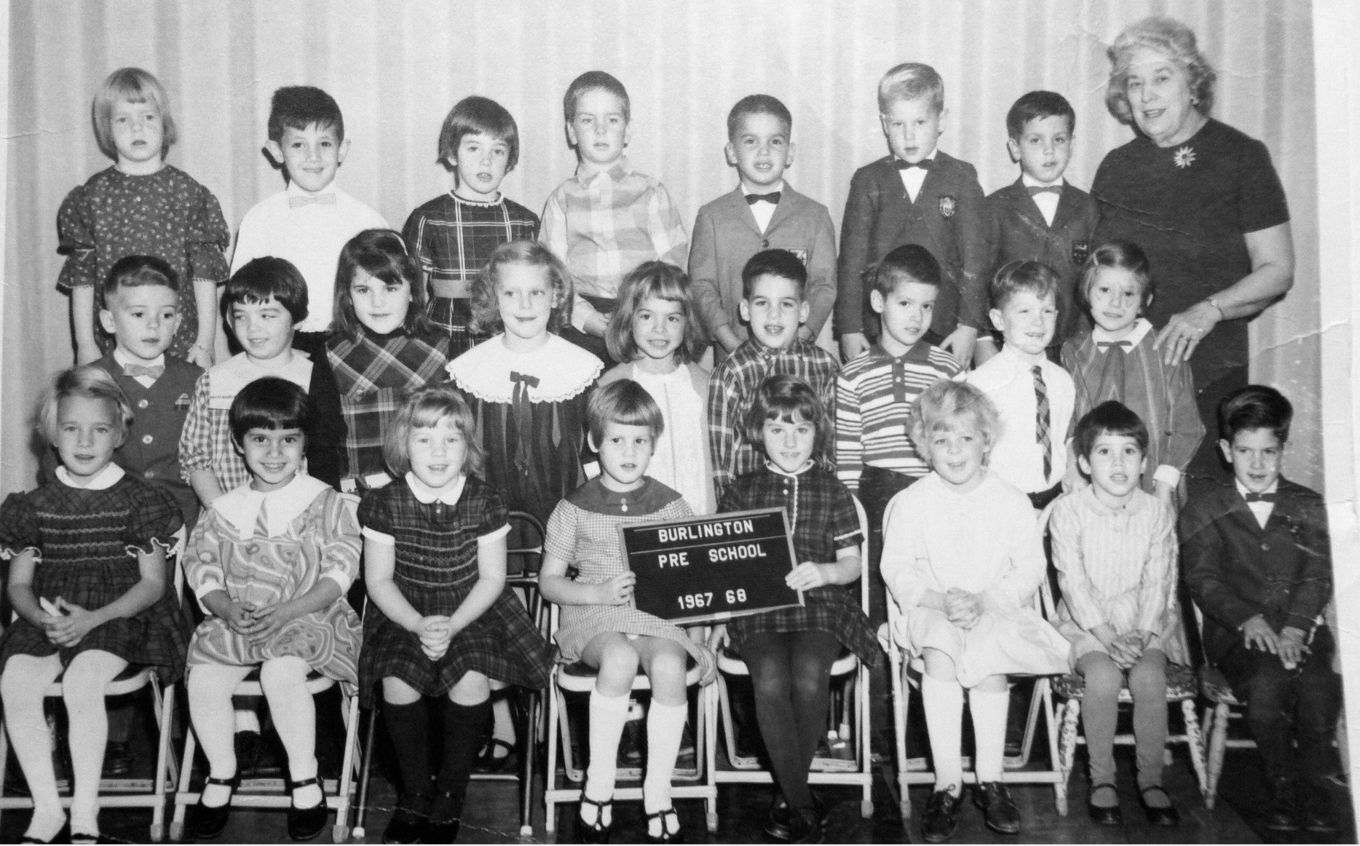 Burlington preschool 1967/68, Burlington MA