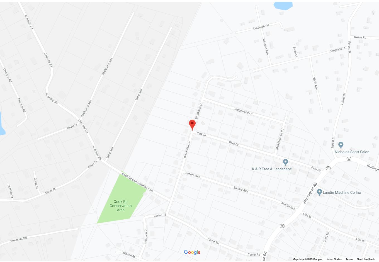 Brookside Ln. Burlington MA