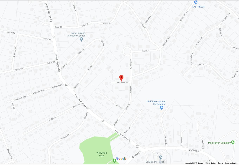 Dartmouth Rd. Burlington MA