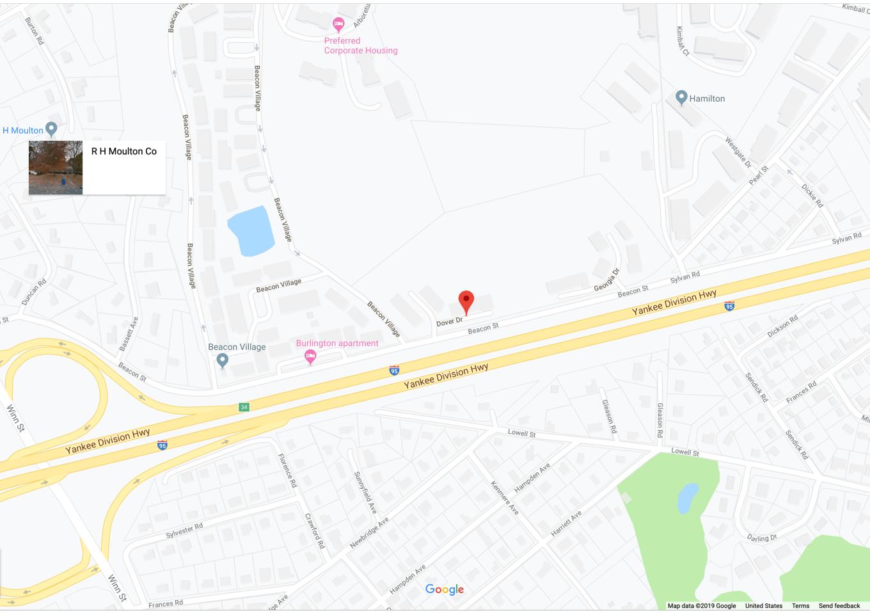 Dover Drive, Burlington MA