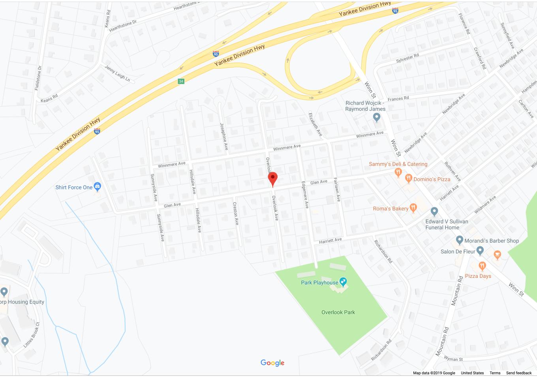 Overlook Ave. Burlington MA