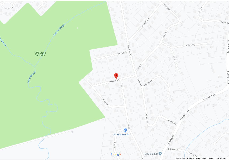 Hemlock Ln. Burlington MA