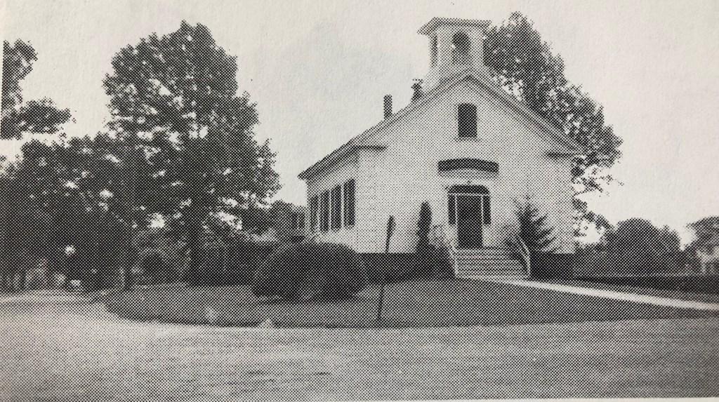 Burlington Public library, built in 1850
