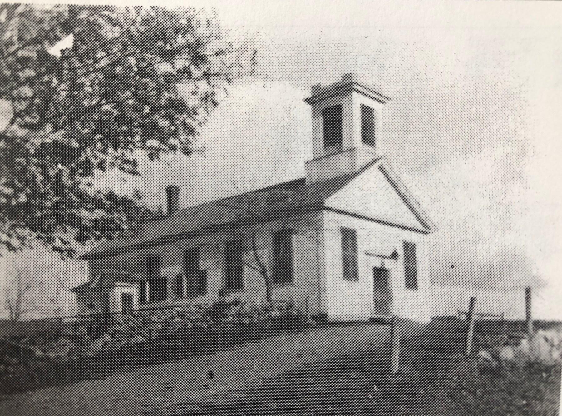 Original Town Hall on Simonds Park, Burlington MA