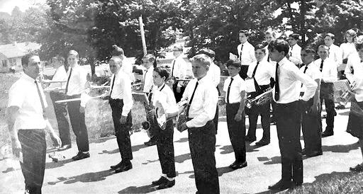 Parade band 1, Burlington MA